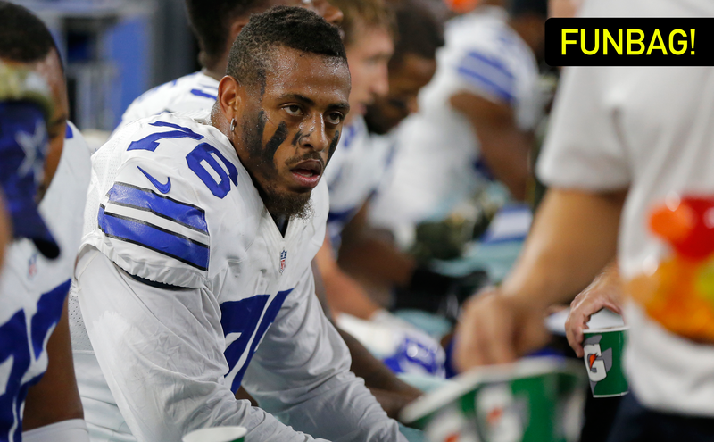 Illustration for article titled Greg Hardy Isn't Good Enough To Keep