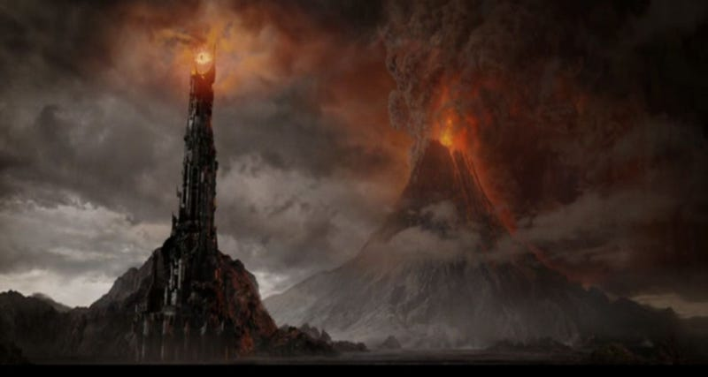 Illustration for article titled One does not simply walk into Mordor but I've driven through it
