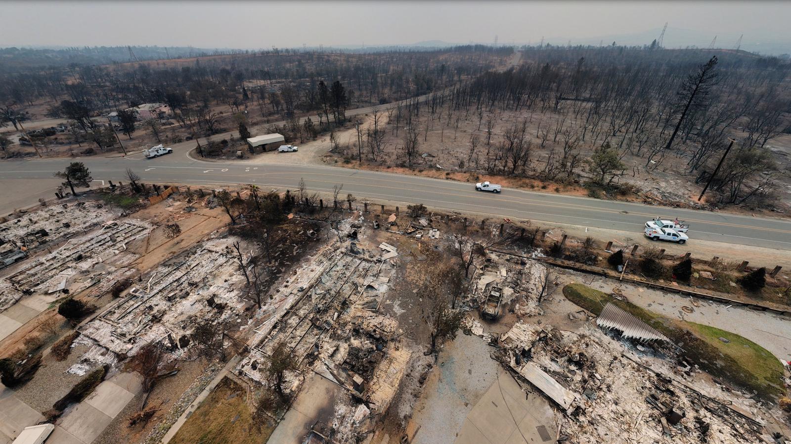 Aerial Photos Reveal The True Horror Of The California Carr Fire