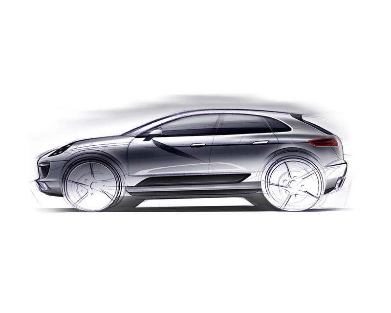 Illustration for article titled Porsche Macan: For Soccer Moms Who Want A Smaller SUV