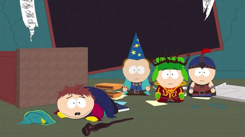 Illustration for article titled South Park's mix of smut and smarts is in full force in The Stick Of Truth