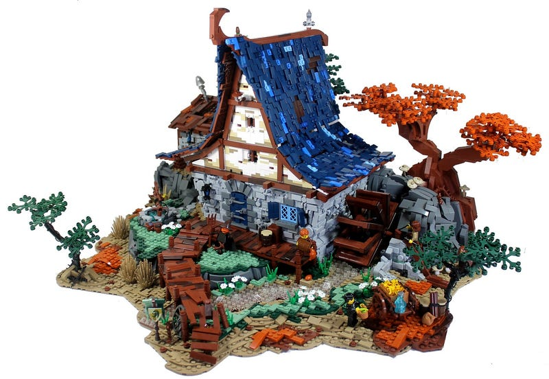 Amazing watermill Lego build will make your jaw drop