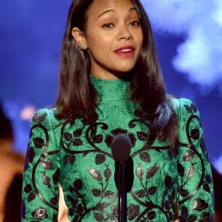Actress Zoe Saldana Kevin Winter/Getty Images for Spike TV