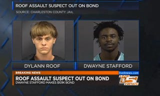 Dylann Roof and Dwayne StaffordWCSC Screenshot