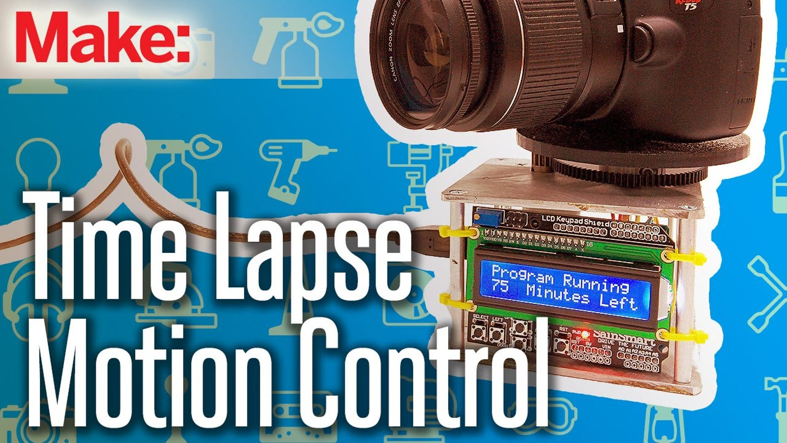 Build your own motion control time lapse photography rig
