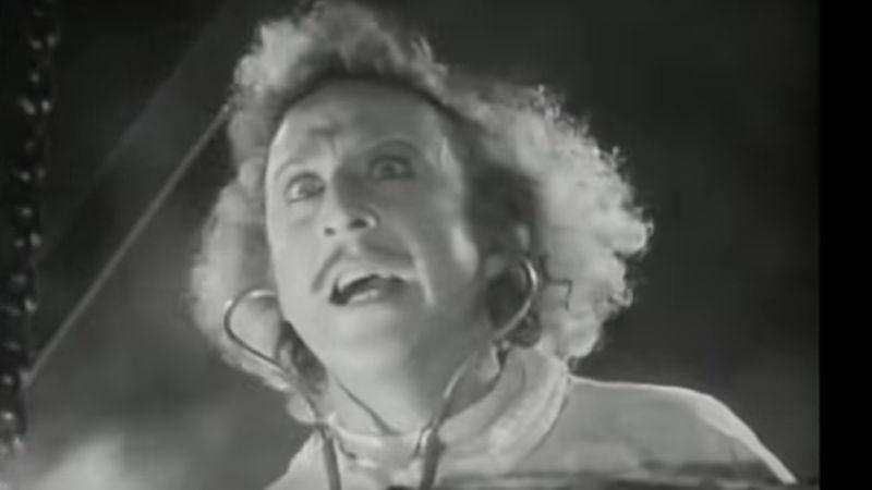 Gene Wilder in Young Frankenstein (Screenshot: YouTube)