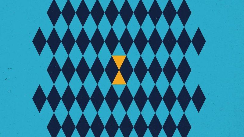 Timothy Monger's Amber Lantern album cover detail