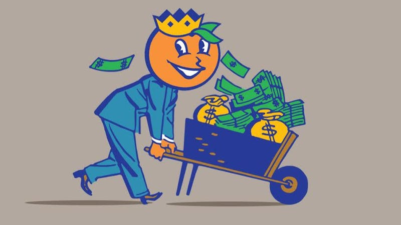 Illustration for article titled Teams In The Orange Bowl Don't Make Any Money, And Other Lies