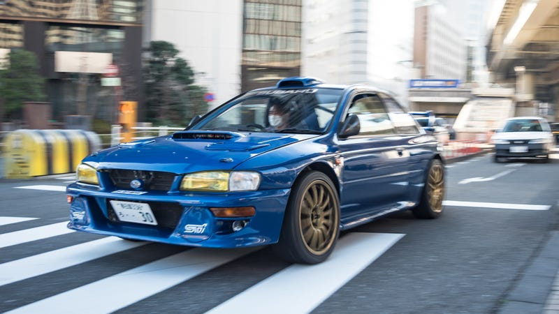 This Guy Converted A Subaru Race Car Into His Street-Legal Daily ...