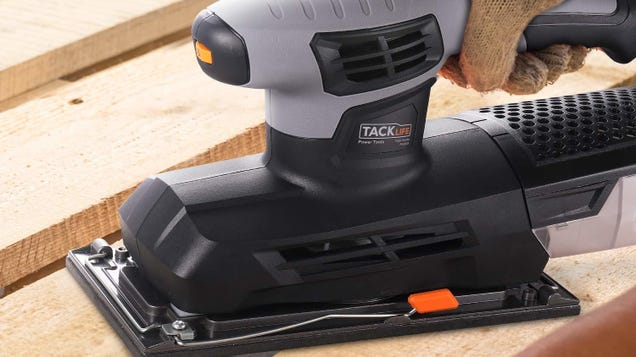 Your Arms Will Thank You For This $21 Sheet Sander