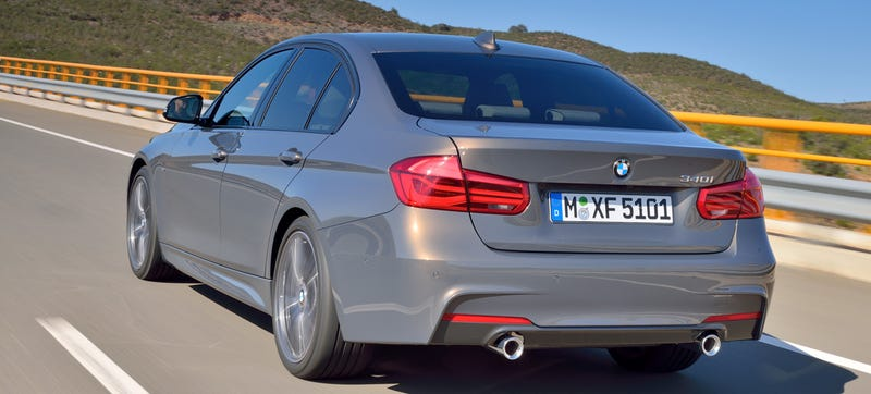 Illustration for article titled 2016 BMW 340i: BMW's Names Get Even More Confusing