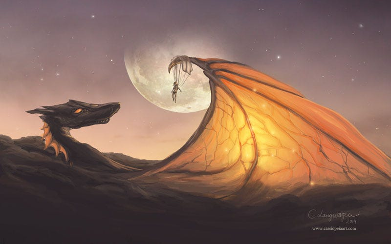 Illustration for article titled The Cloud Dragon Did Not Go Hungry That Night