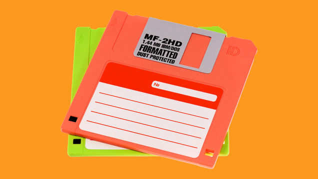 I Miss Using Floppy Disks as Small Treasure Chests for Fanfiction