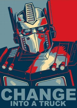 Illustration for article titled Change Transformers Can Believe In