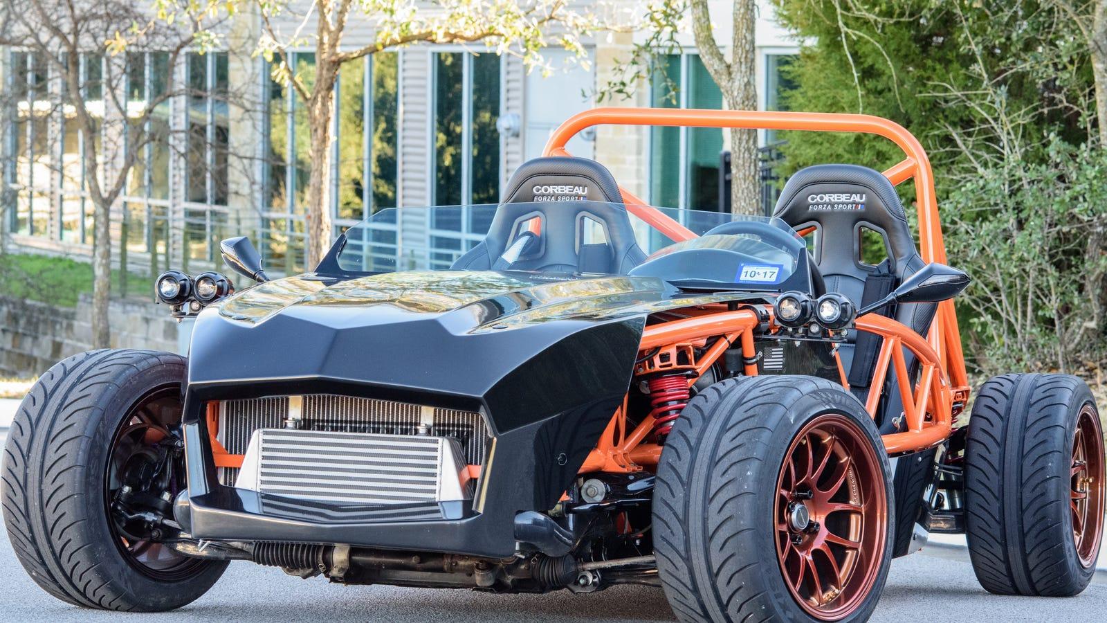 Driving A Stripped-Down Turbo Miata Kit Car: Doors Are