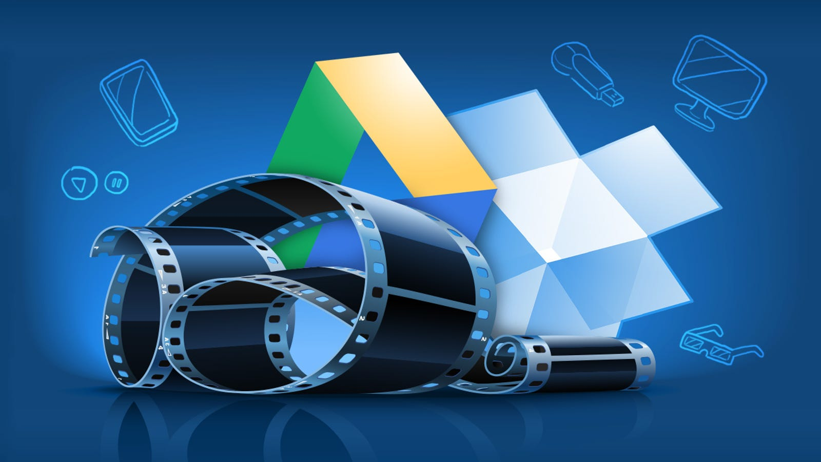 How to Stream Your Media Anywhere with Dropbox and Google Drive