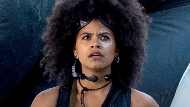 Zazie Beetz hopes she gets to continue to explore her Deadpool 2 character, Domino.