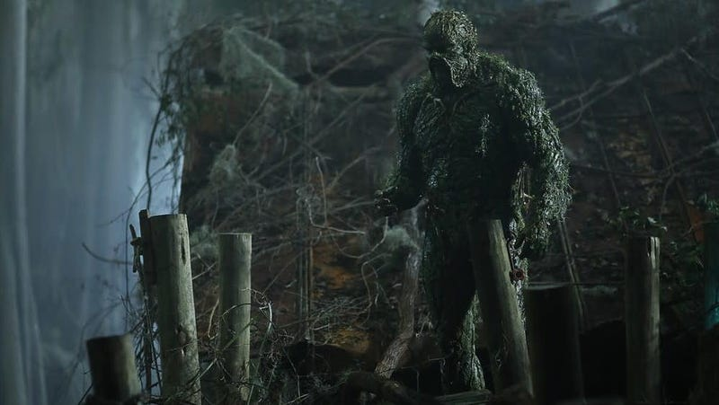 Illustration for article titled DC Universe is already pulling the plug on Swamp Thing