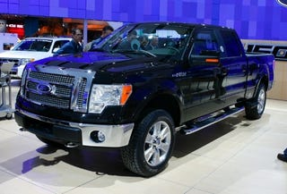 Illustration for article titled Detroit Auto Show: 2009 Ford F-150 Live And In The Flesh