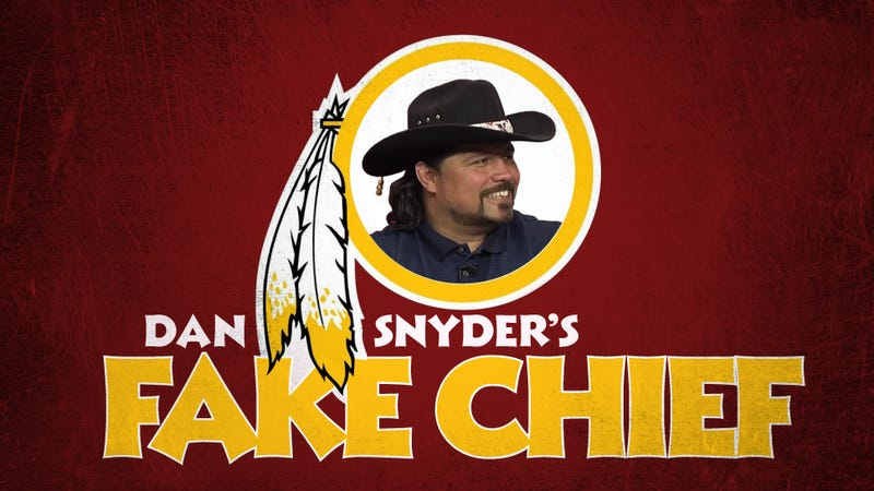 Illustration for article titled Redskins' Indian-Chief Defender: Not A Chief, Probably Not Indian
