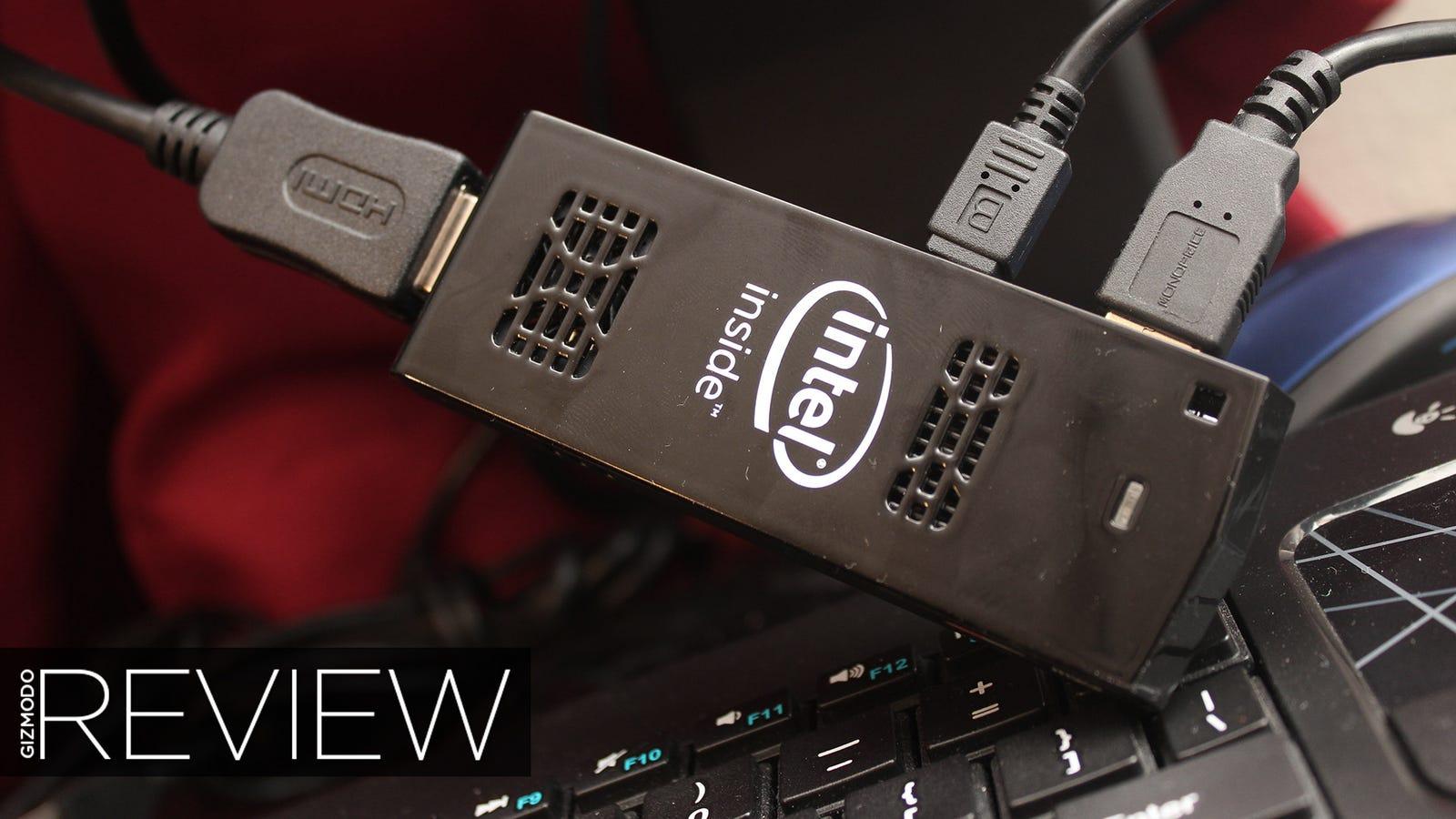 Intel Compute Stick Review: Don't Buy It