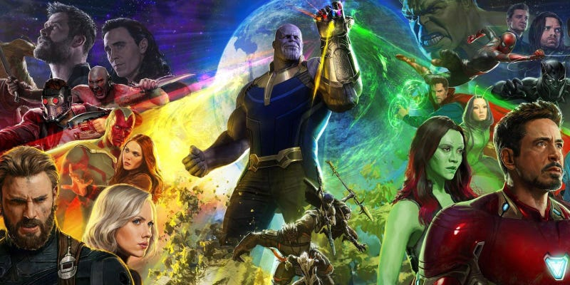 Illustration for article titled Infinity War