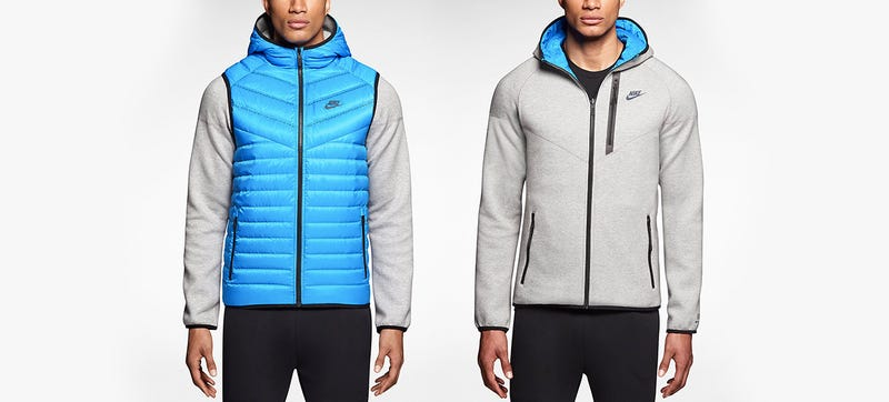 A Reversible Hoodie Hides a Warm Puffy Vest On the Inside 14694f30fcf0
