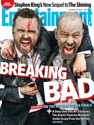 Illustration for article titled Yo, BB fans, Bryan Cranston and Aaron Paul are on the
