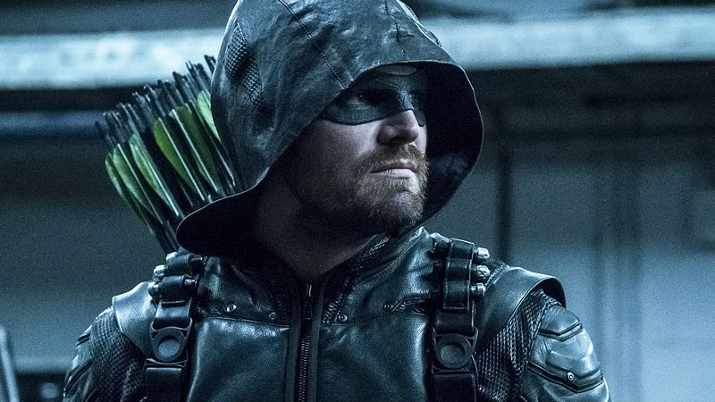 Oliver Queen is taking off the domino mask once and for all.