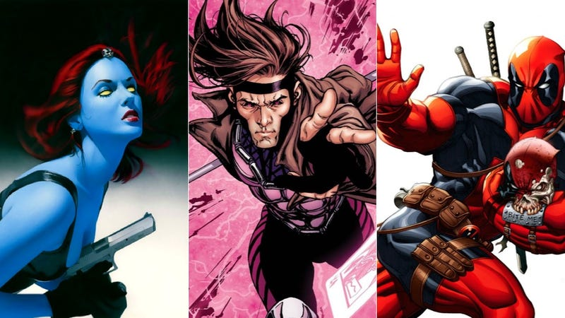 Illustration for article titled Fox Wants To Make Mystique, Gambit and Deadpool Spin-Off Movies