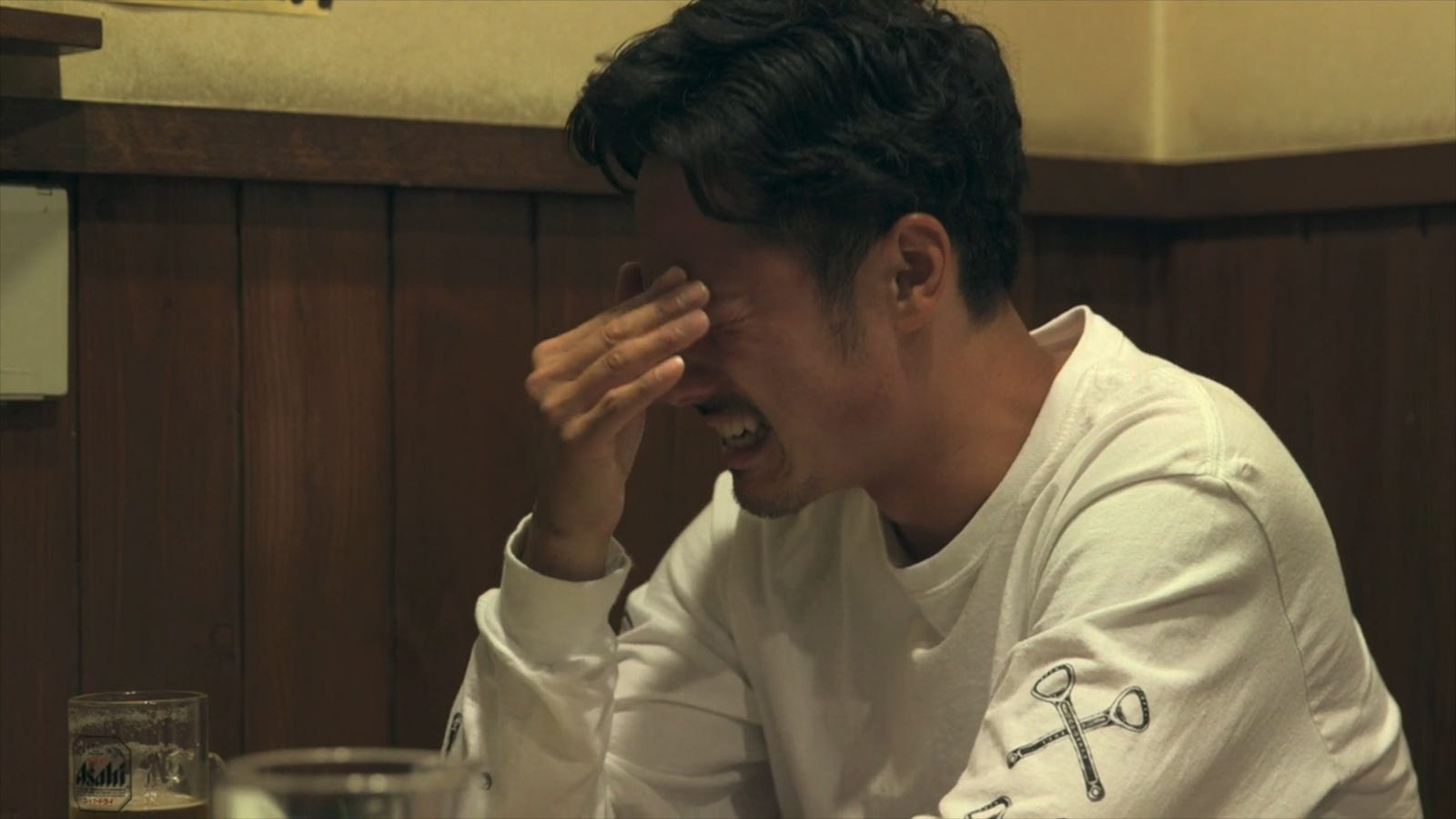 Image result for terrace house opening new doors crying