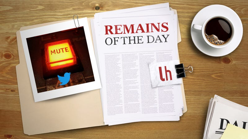 Illustration for article titled Remains of the Day: Twitter Taking More Steps to Curb Harassment