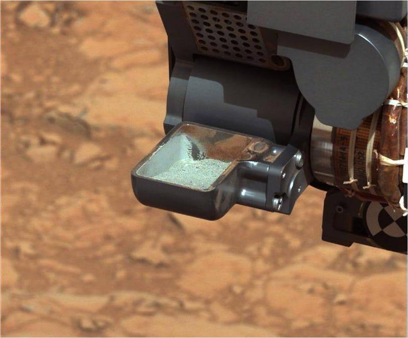 Illustration for article titled Los secretos de Marte se encuentran en una cuchara del Curiosity