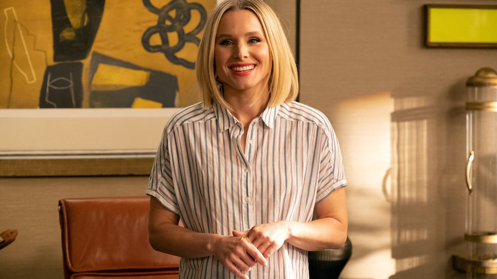 Eleanor doubts her fitness to lead on The Good Place