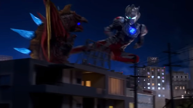 Tokusatsu Nights Are Alright for Fighting
