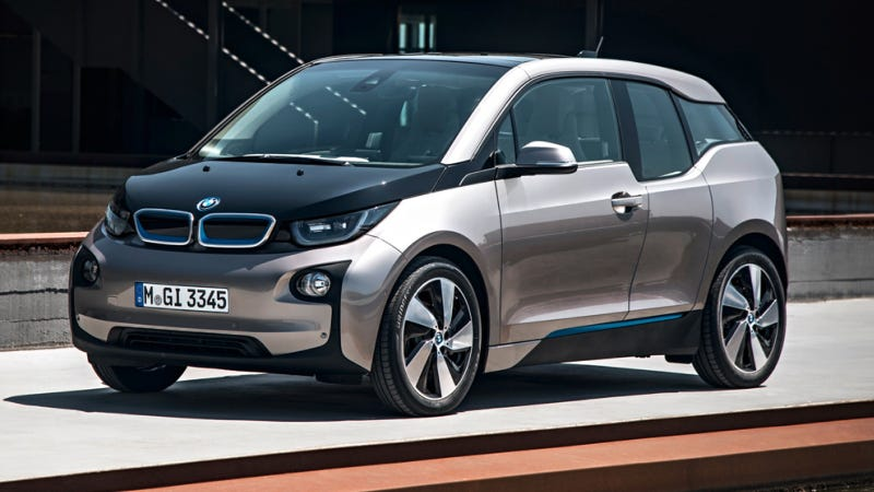 Illustration for article titled 2014 BMW i3: This Is It