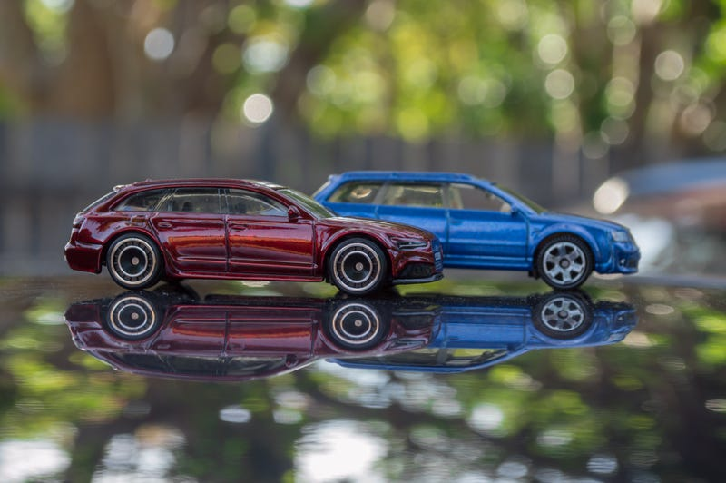 Illustration for article titled $TH RS6 vs. Matchbox RS6