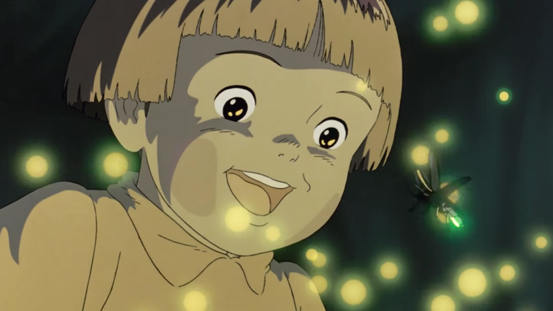 Illustration for article titled The Grave Of The Fireflies poster was much darker than we realized