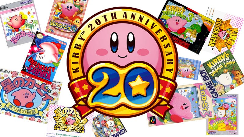 "Illustration for article titled ""Kirb"" Your Enthusiasm With These 6 Classic Kirby Games In One"
