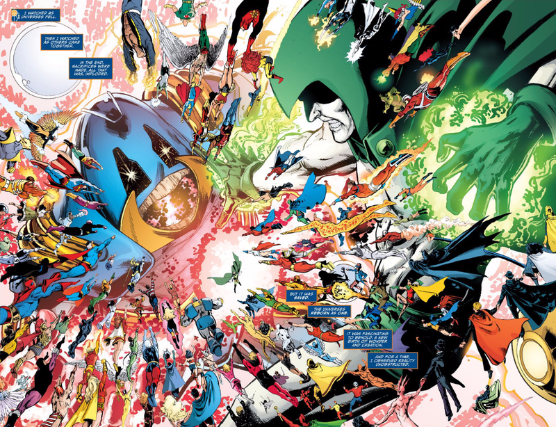 Illustration for article titled DC Comics (Sort of) Admits They Reboot Their Universe Too Damn Much