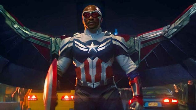 Thank Goodness, Someone Finally Told Anthony Mackie He s in Captain America 4