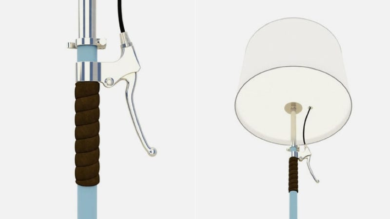Illustration for article titled Put the Brakes on the Lights With this Bike-Influenced Rem Lamp
