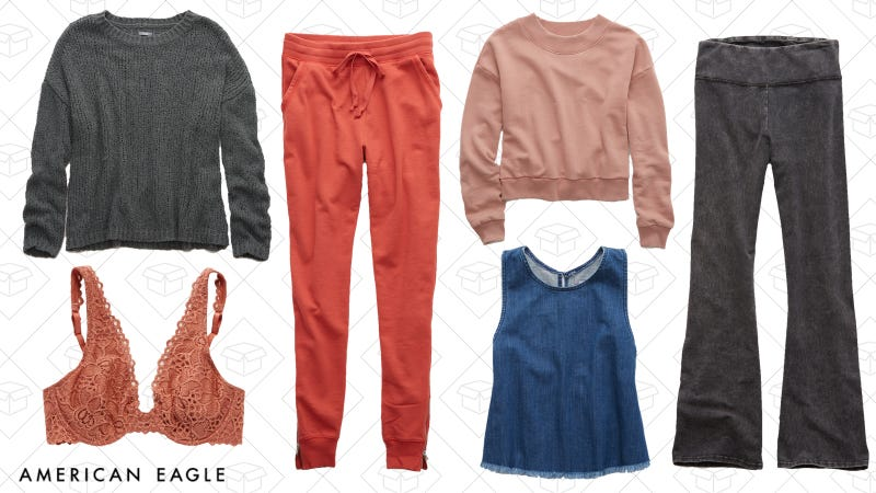 Buy one, get one free on select styles | American Eagle