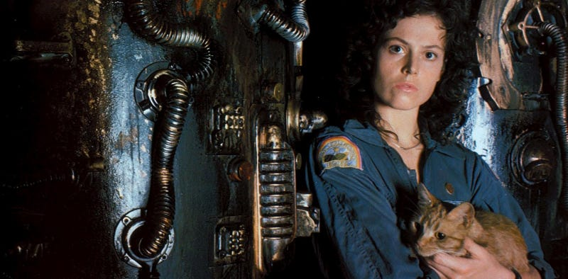 Illustration for article titled Ridley Scott quería que Ripley muriera en el final de Alien