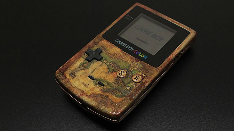 Illustration for article titled Pokémon-Themed Game Boy Is A Kanto Region Map