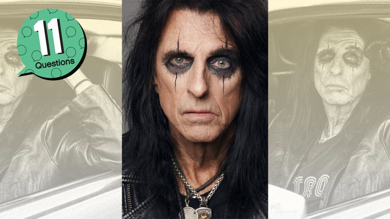 We're not worthy of Alice Cooper answering our 11 Questions