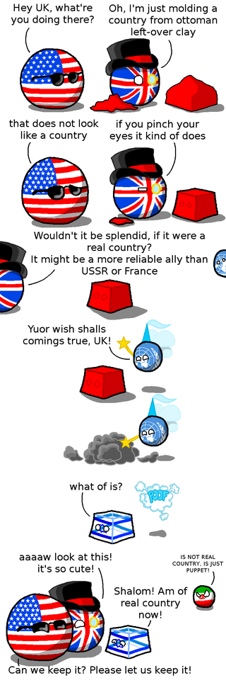 Illustration for article titled Daily Polandball: The UN Fairy
