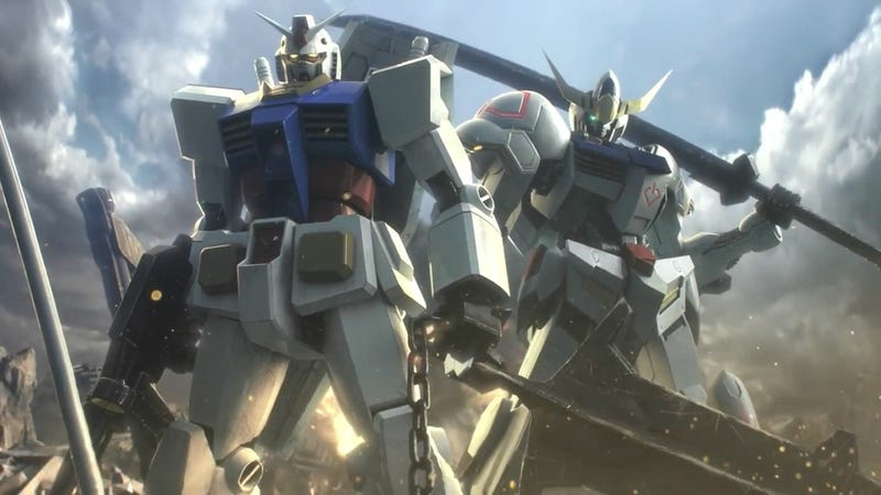 Illustration for article titled Nyren's Corner: Gundam Versus is Getting Released in NA & Europe This Fall