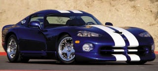 Illustration for article titled 'No Historical Significance' To Vipers Being Crushed, Chrysler Says