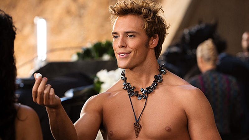 Illustration for article titled This Photo of Shirtless Finnick Will Leave You Wholly Unsatisfied